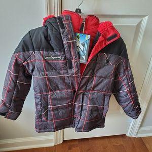 Boys 5/6 New winter coat